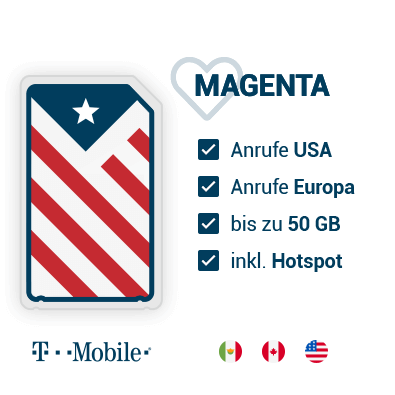 T-Mobile Prepaid SIM-Karte USA