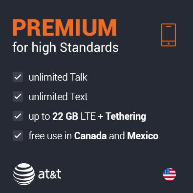 AT&T Prepaid US Plan