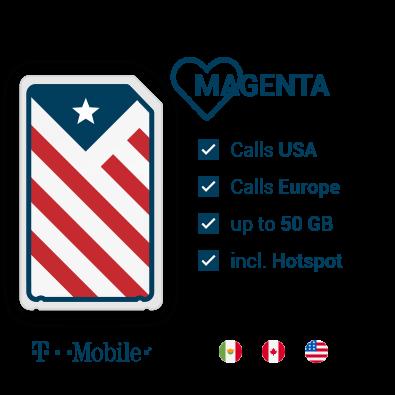 T-Mobile Prepaid SIM USA